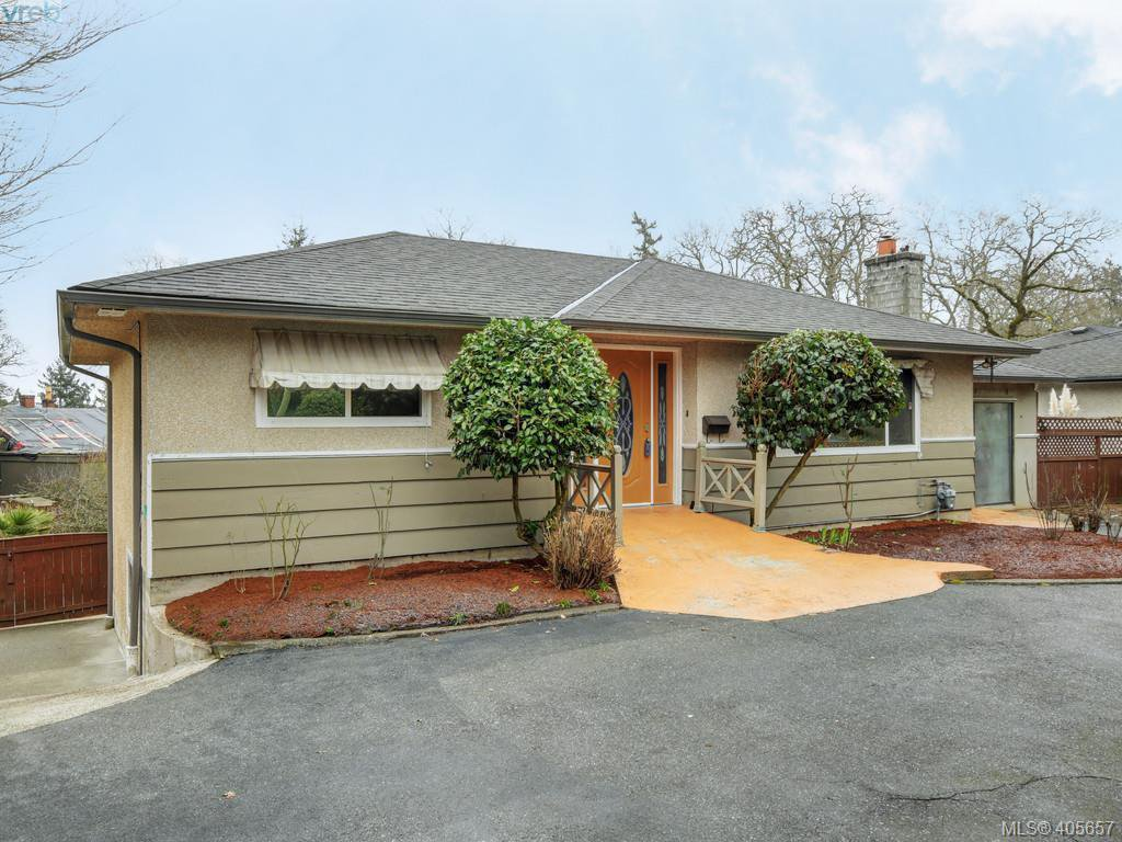 Main Photo: 4055 Saanich Rd in VICTORIA: SE High Quadra House for sale (Saanich East)  : MLS®# 806101