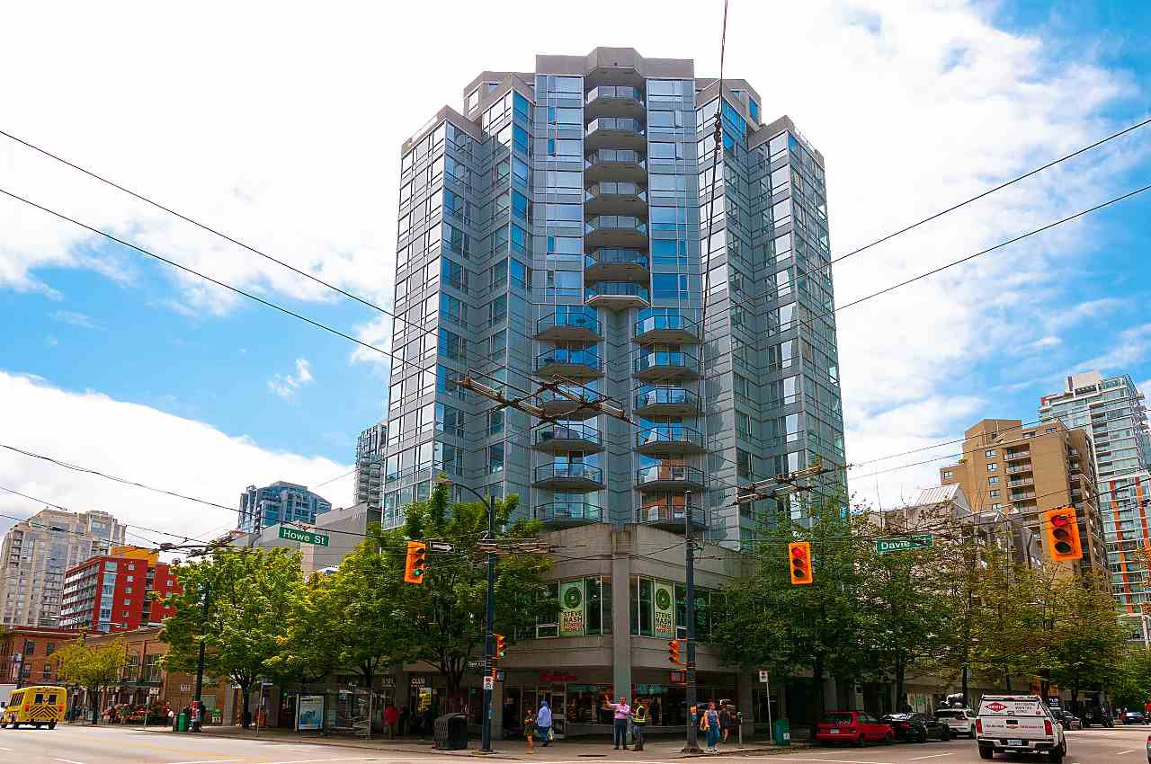 Main Photo: 909 1212 HOWE STREET in Vancouver: Downtown VW Condo for sale (Vancouver West)  : MLS®# R2387043
