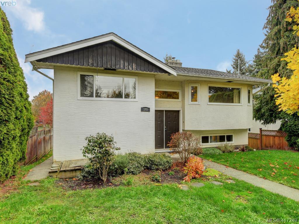 Main Photo: 540 Whiteside St in VICTORIA: SW Tillicum House for sale (Saanich West)  : MLS®# 827754