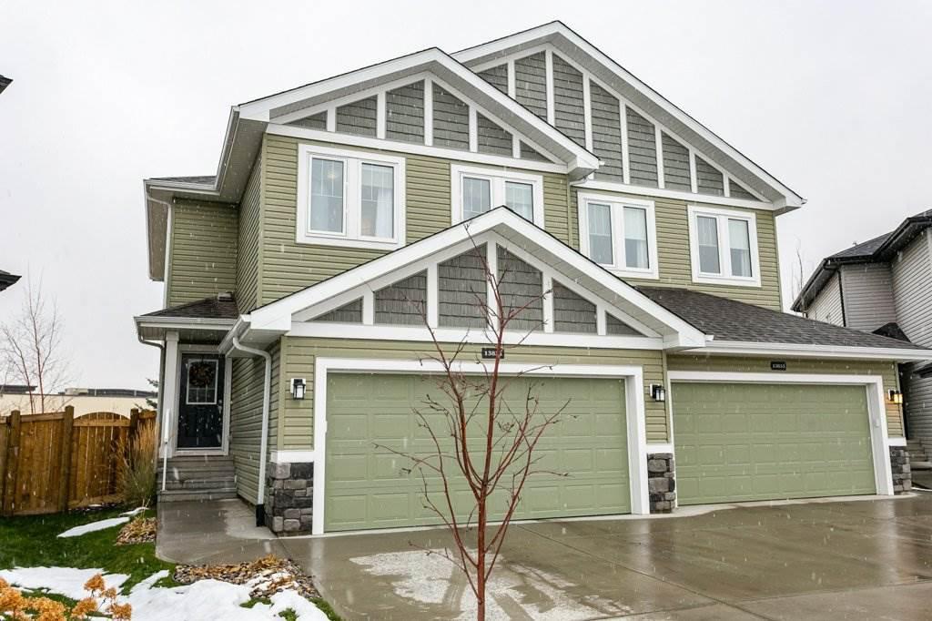 Main Photo: 13831 138 Avenue NW in Edmonton: Zone 27 House Half Duplex for sale : MLS®# E4182465