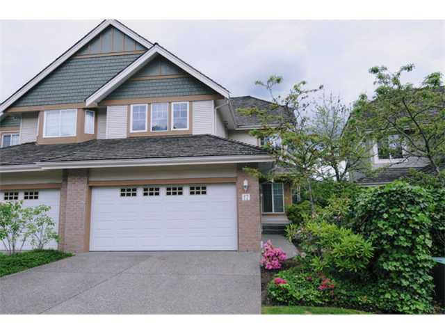 "Main Photo: 17 1765 PADDOCK Drive in Coquitlam: Westwood Plateau Townhouse for sale in ""WORTHING GREEN"" : MLS®# V912013"