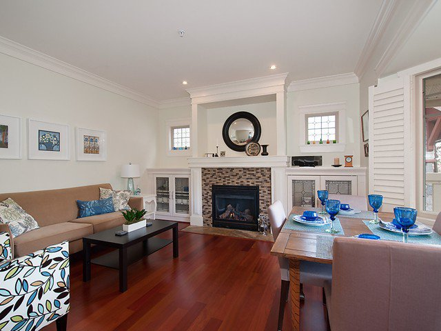 Photo 5: Photos: 2566 W 3RD Avenue in Vancouver: Kitsilano Townhouse for sale (Vancouver West)  : MLS®# V1058083