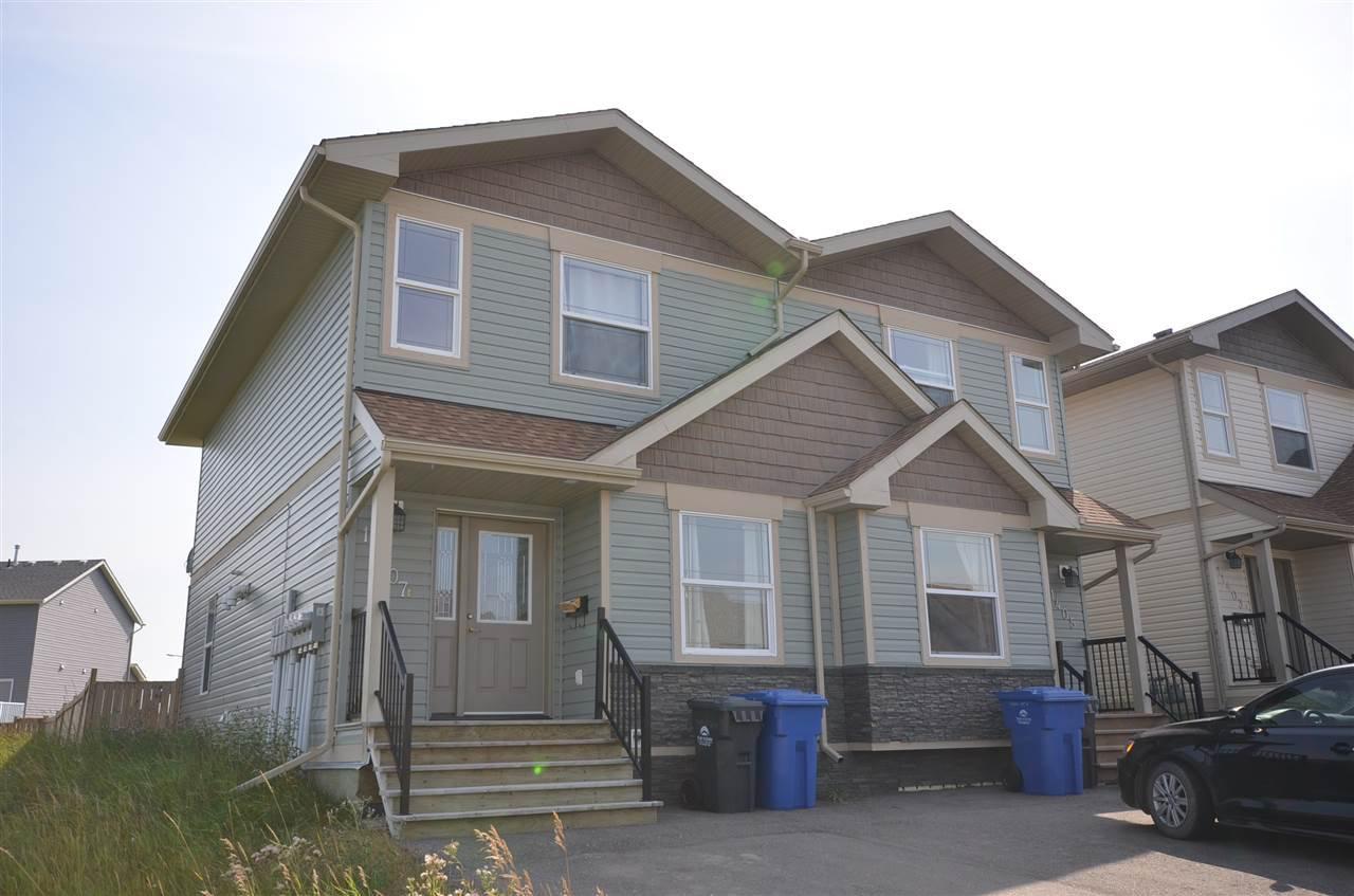 Main Photo: 11407 89A Street in Fort St. John: Fort St. John - City NE House 1/2 Duplex for sale (Fort St. John (Zone 60))  : MLS®# R2143713