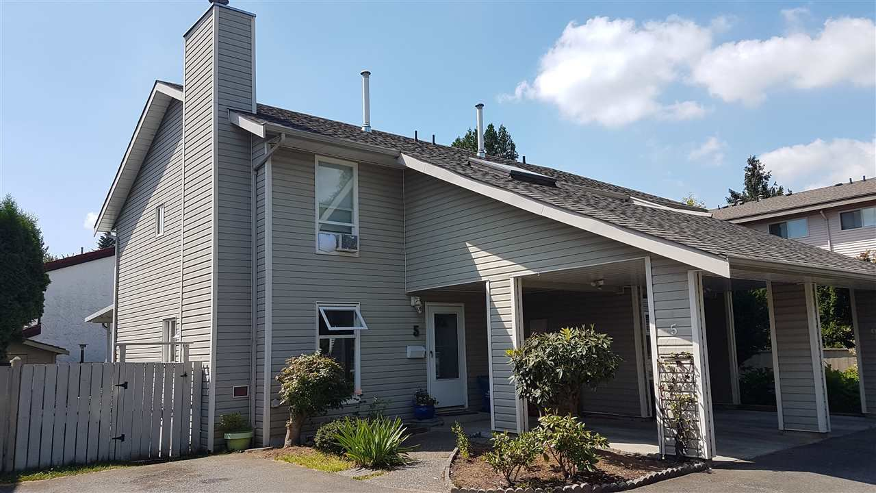 Main Photo: 5 33917 MARSHALL Road in Abbotsford: Central Abbotsford Townhouse for sale : MLS®# R2184620
