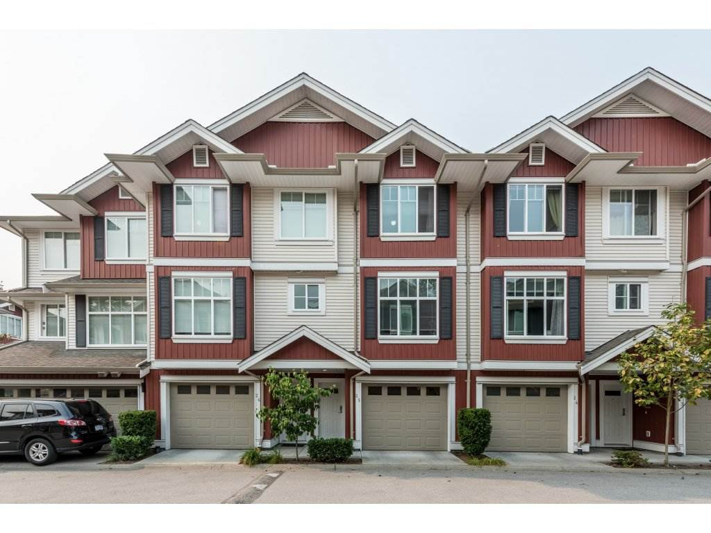 "Main Photo: 25 6956 193 Street in Surrey: Clayton Townhouse for sale in ""Edge"" (Cloverdale)  : MLS®# R2194884"