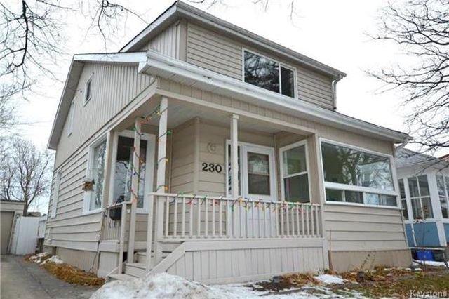 Main Photo: 230 Albany Street in Winnipeg: Bruce Park Residential for sale (5E)  : MLS®# 1802882