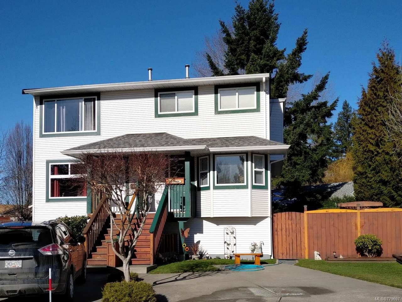 Main Photo: B 1950 CHOQUETTE PLACE in COURTENAY: CV Courtenay City Half Duplex for sale (Comox Valley)  : MLS®# 779697