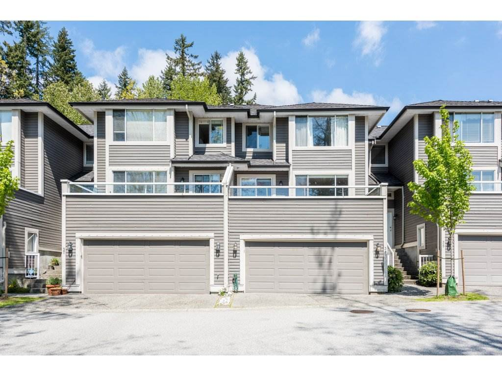 "Main Photo: 36 181 RAVINE Drive in Port Moody: Heritage Mountain Townhouse for sale in ""Viewpoint"" : MLS®# R2266326"