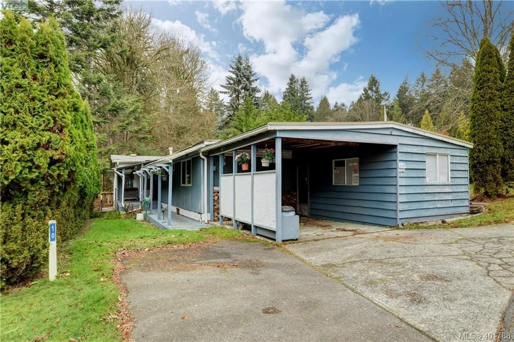 Main Photo: 10 5838 Blythwood Road in SOOKE: Sk Saseenos Manu Double-Wide for sale (Sooke)  : MLS®# 401788