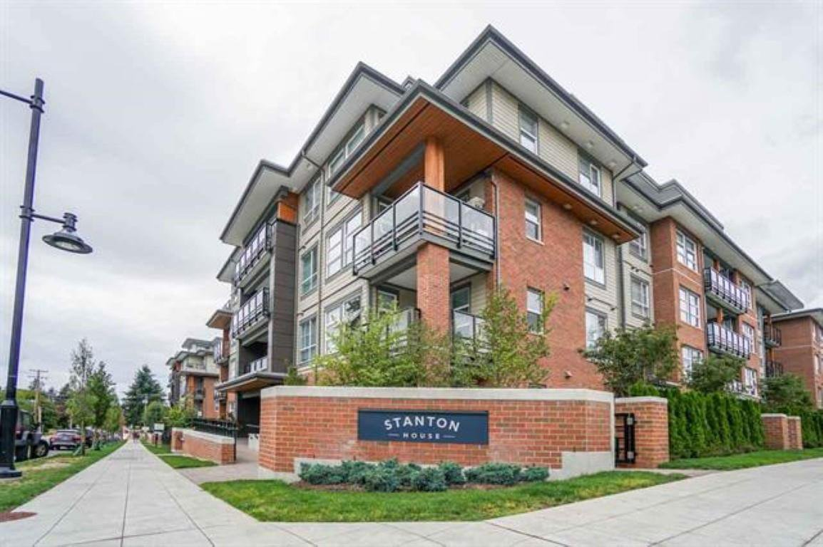 "Main Photo: 408 607 COTTONWOOD Avenue in Coquitlam: Coquitlam West Condo for sale in ""Stanton House"" : MLS®# R2436109"