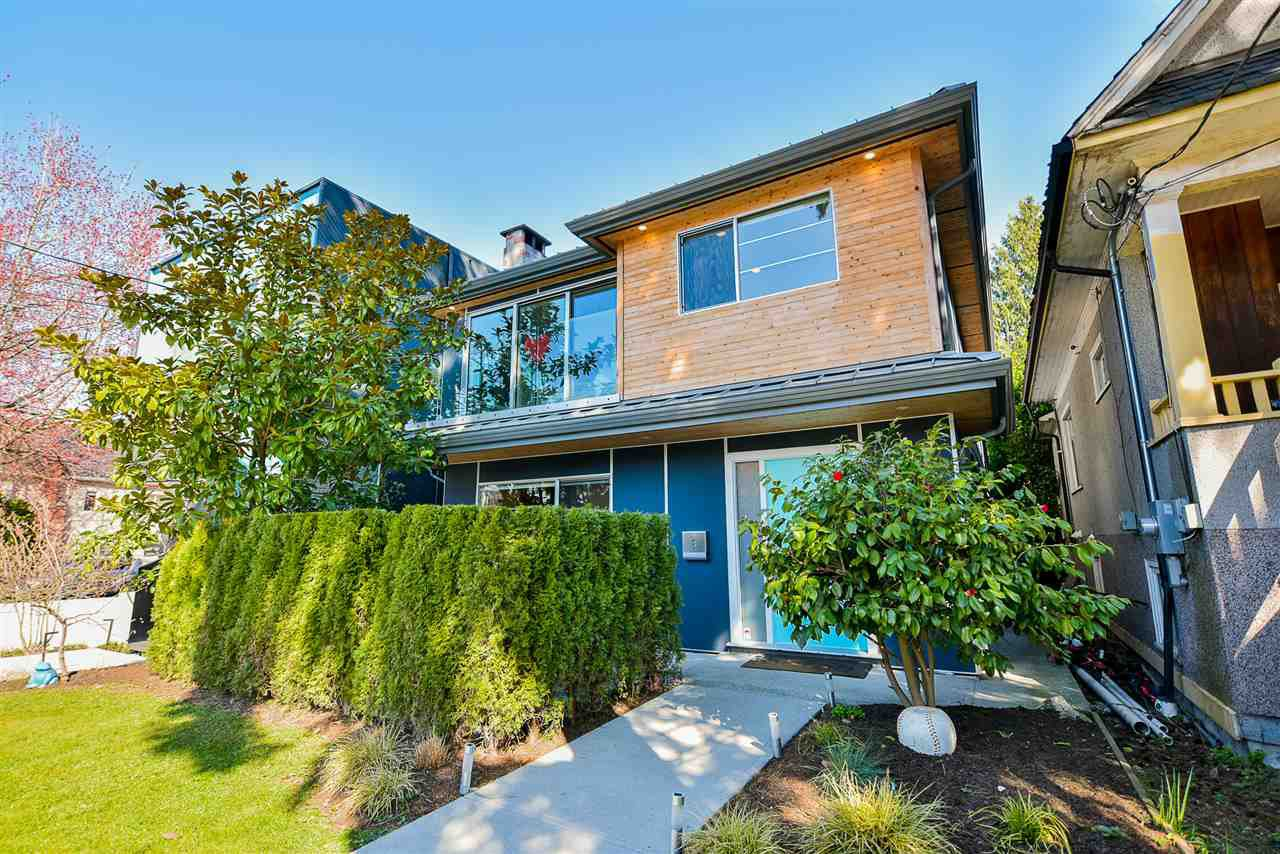 Main Photo: 4518 JAMES STREET in Vancouver: Main House for sale (Vancouver East)  : MLS®# R2450916