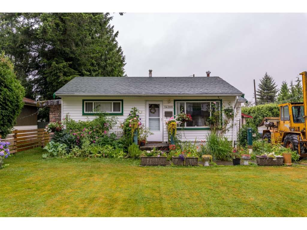 Main Photo: 14389 KINDERSLEY Drive in Surrey: Bolivar Heights House for sale (North Surrey)  : MLS®# R2481406