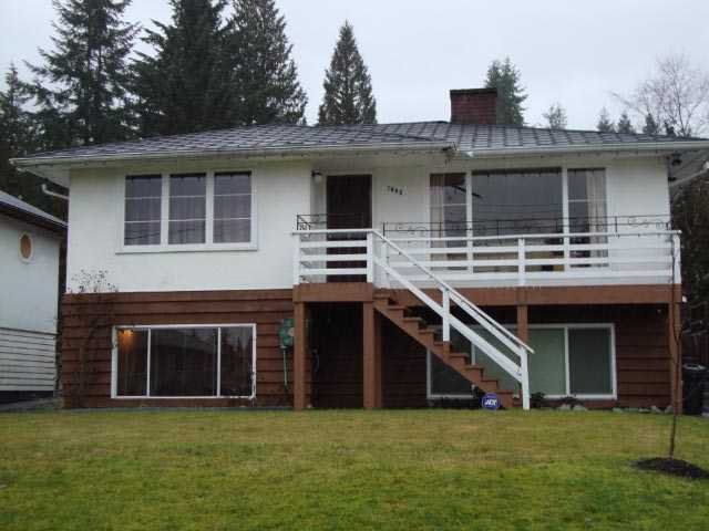 Main Photo: 1448 DORAN Road in North Vancouver: Lynn Valley House for sale : MLS®# V869948