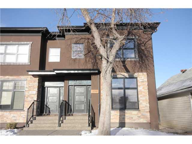 Main Photo: 406 20 Avenue NW in CALGARY: Mount Pleasant Residential Attached for sale (Calgary)  : MLS®# C3501460