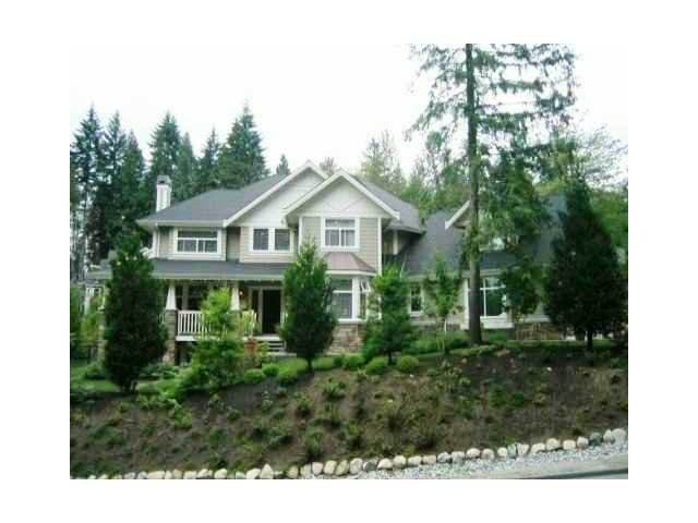 Main Photo: 130 DOGWOOD Drive: Anmore House for sale (Port Moody)  : MLS®# V1104937