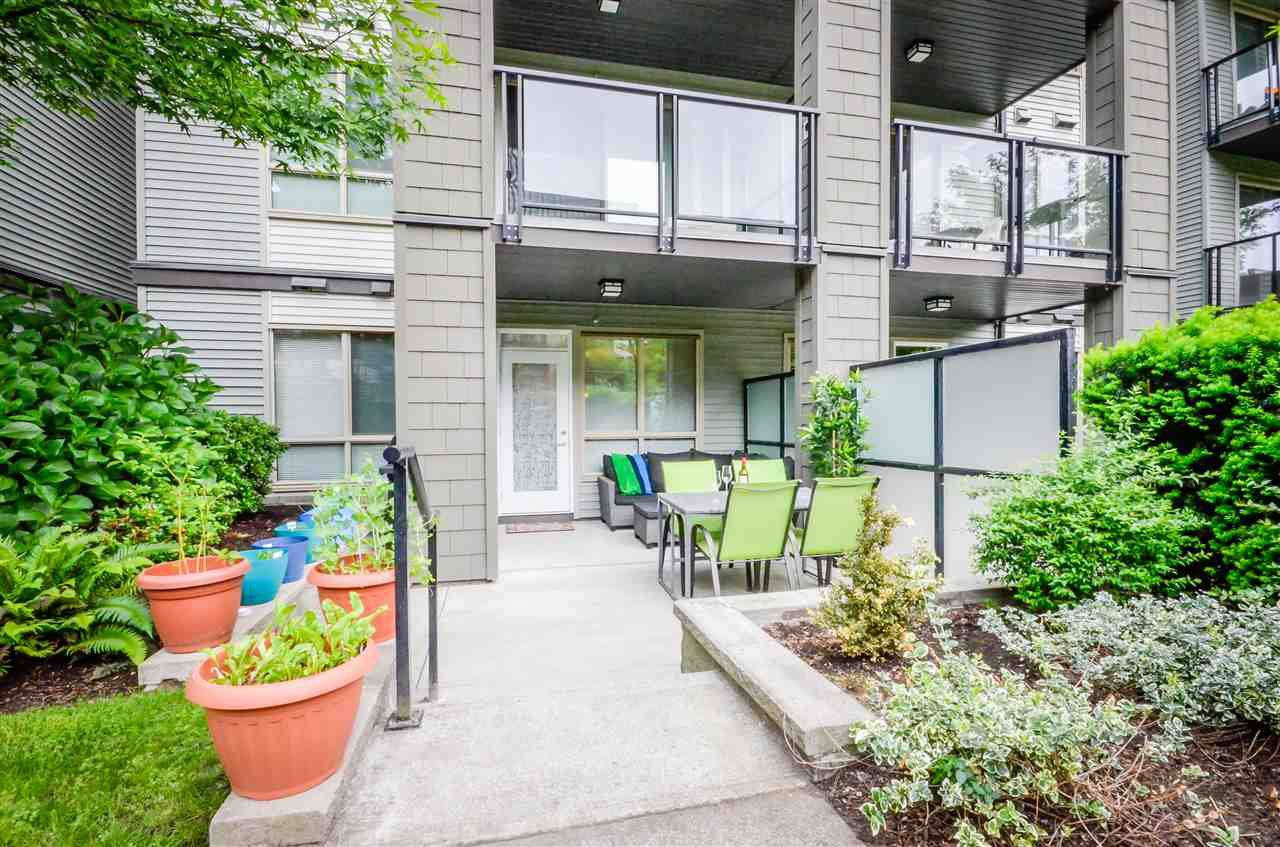 "Main Photo: 109 7478 BYRNEPARK Walk in Burnaby: South Slope Condo for sale in ""GREEN"" (Burnaby South)  : MLS®# R2070047"