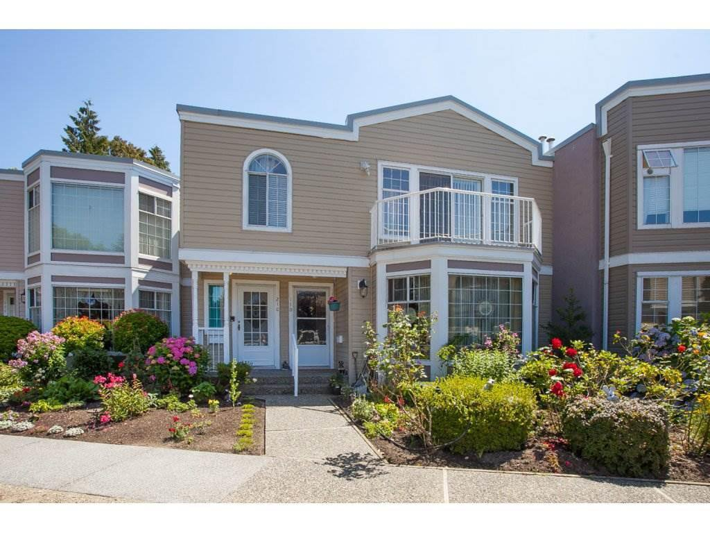 "Main Photo: 206 9540 COOK Street in Chilliwack: Chilliwack N Yale-Well Townhouse for sale in ""Rose Arbour"" : MLS®# R2090667"