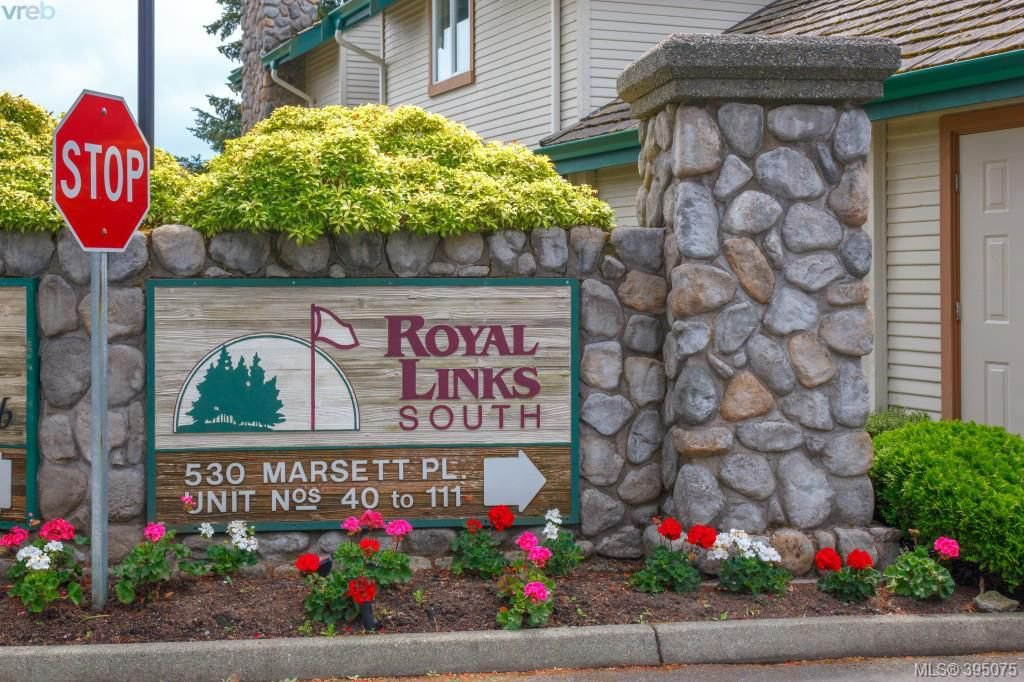 Main Photo: 87 530 Marsett Place in VICTORIA: SW Royal Oak Townhouse for sale (Saanich West)  : MLS®# 395075