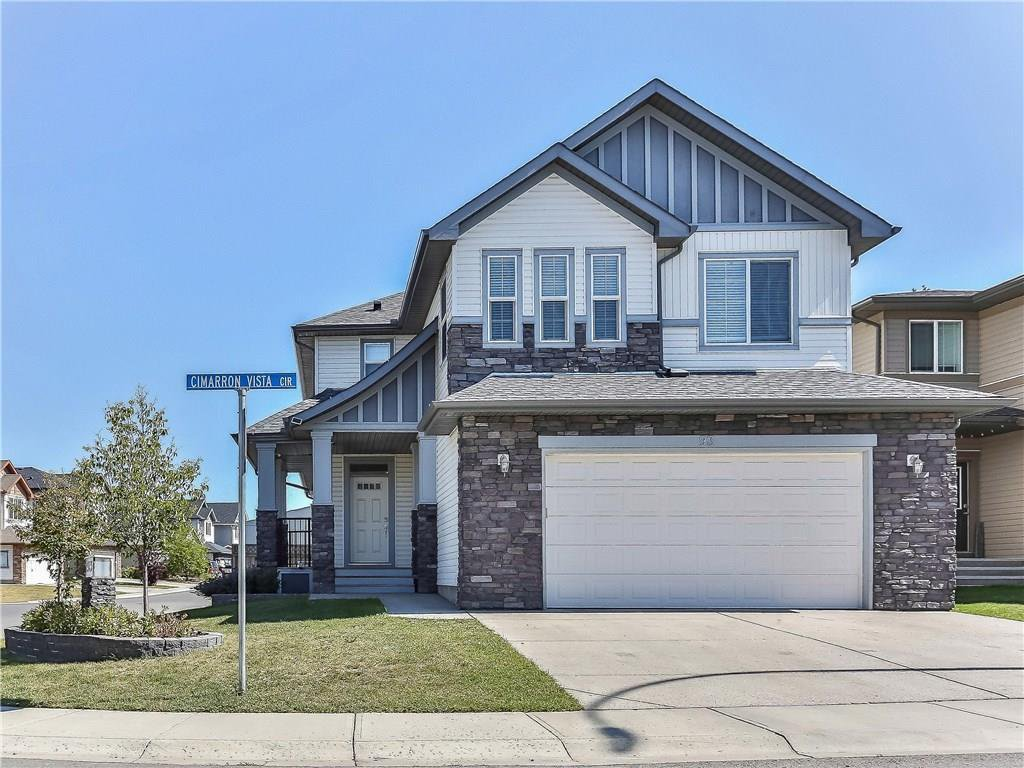 Main Photo: 93 CIMARRON VISTA Circle: Okotoks Detached for sale : MLS®# C4202253