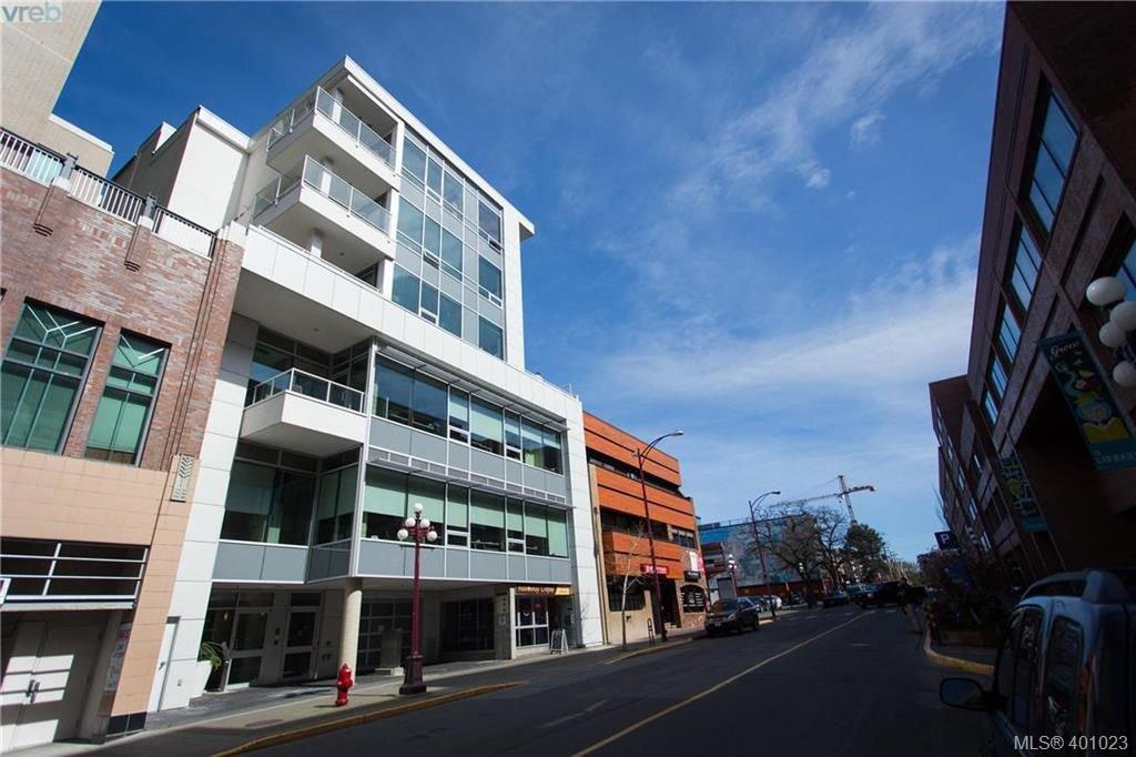 Main Photo: 602 732 Broughton St in VICTORIA: Vi Downtown Condo Apartment for sale (Victoria)  : MLS®# 800065