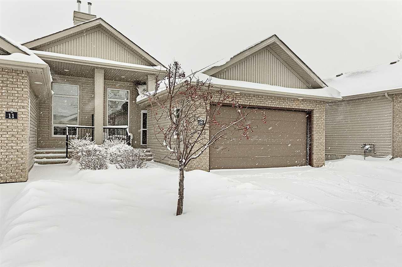 Main Photo: 15 700 REGENCY Drive: Sherwood Park House Half Duplex for sale : MLS®# E4184416