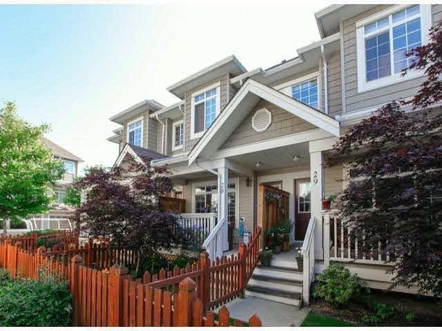 "Main Photo: 28 6852 193RD Street in Surrey: Clayton Townhouse for sale in ""INDIGO"" (Cloverdale)  : MLS®# F1426154"