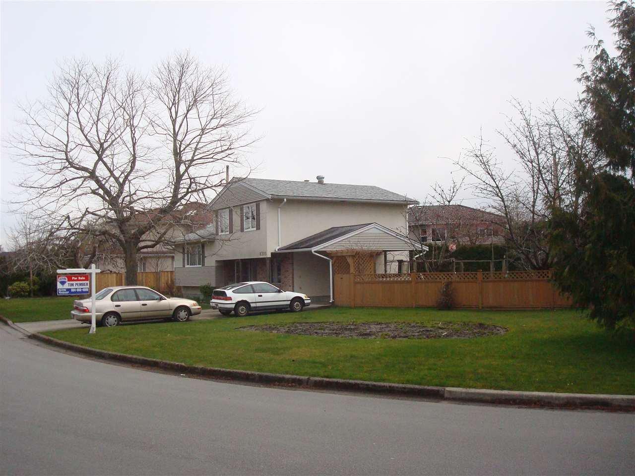 """Main Photo: 8380 FAIRHURST Road in Richmond: Seafair House for sale in """"SEAFAIR"""" : MLS®# R2026638"""