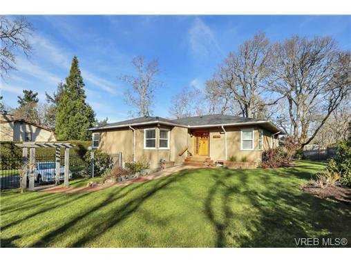 Main Photo: 4200 Cedar Hill Road in VICTORIA: SE Mt Doug Single Family Detached for sale (Saanich East)  : MLS®# 360367