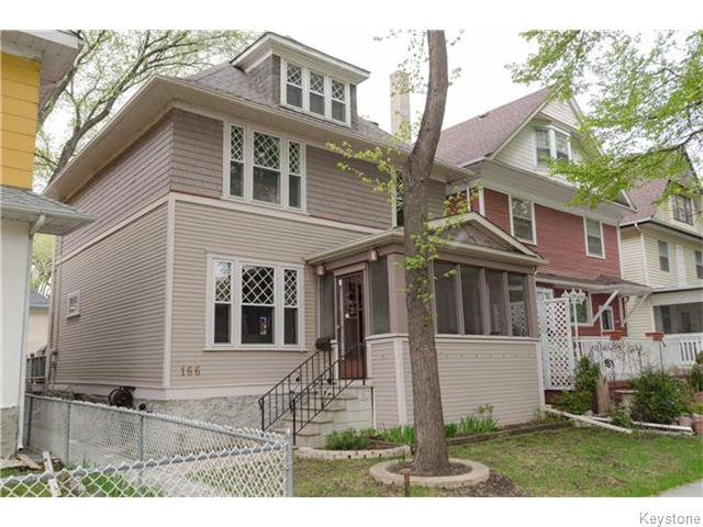 Main Photo: 166 Ruby Street in Winnipeg: West End / Wolseley Residential for sale (West Winnipeg)  : MLS®# 1612567