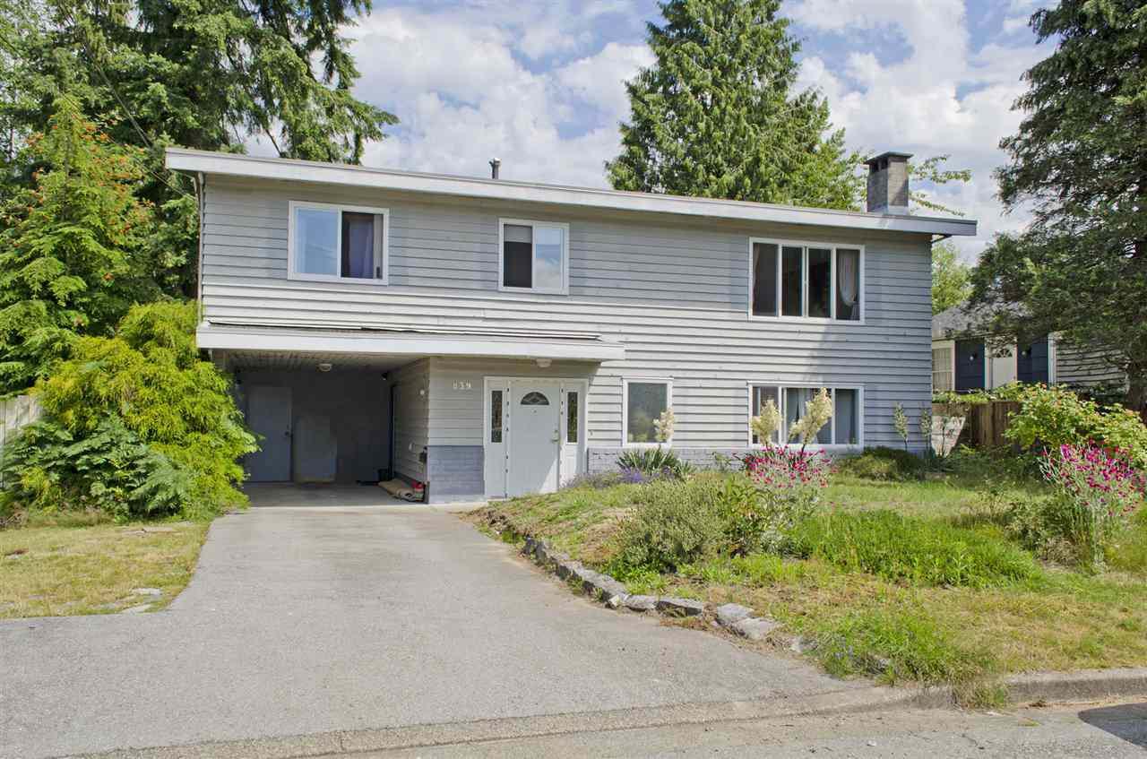 Photo 1: Photos: 839 CATHERINE Avenue in Coquitlam: Coquitlam West House for sale : MLS®# R2085426