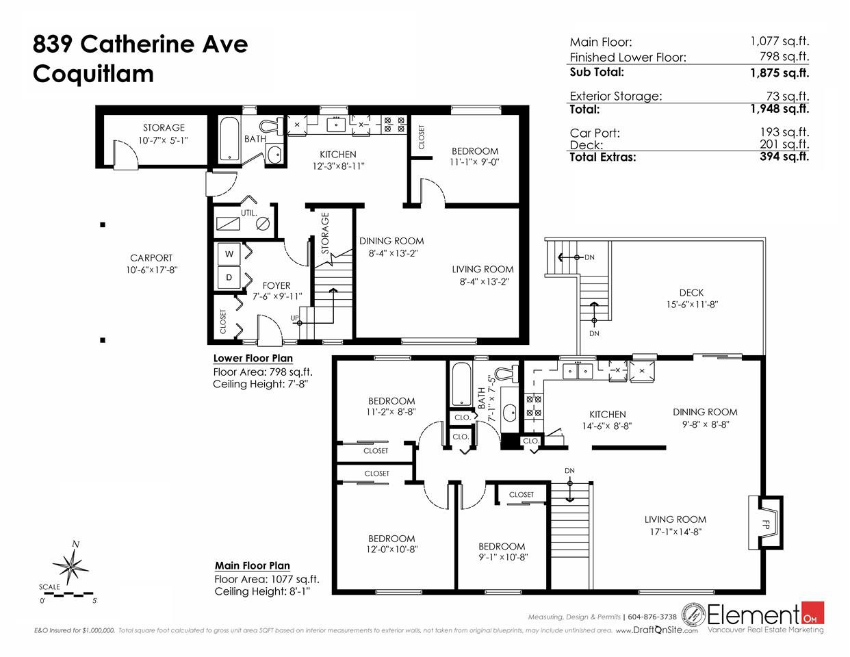 Photo 14: Photos: 839 CATHERINE Avenue in Coquitlam: Coquitlam West House for sale : MLS®# R2085426