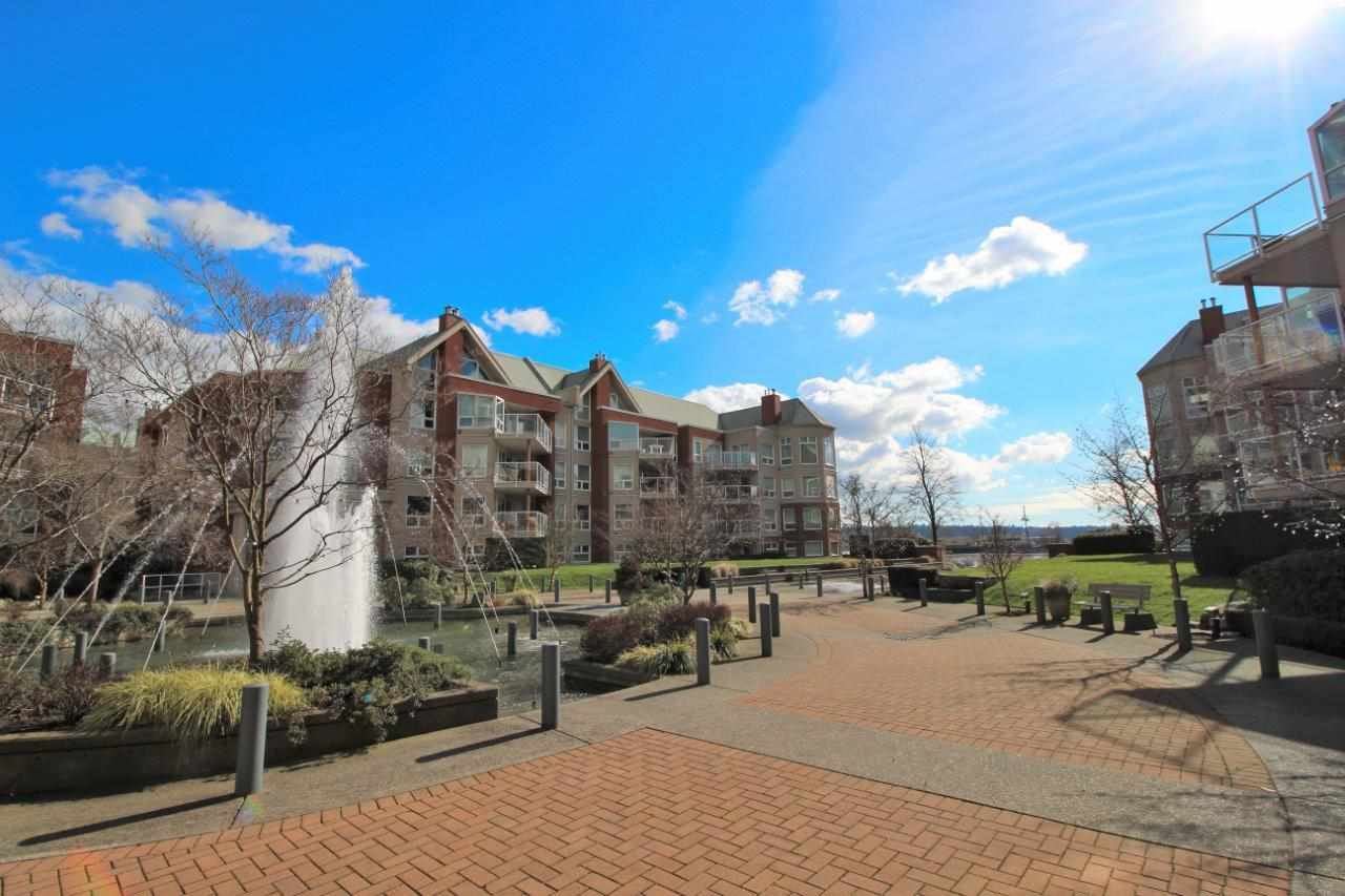 """Main Photo: 307A 1220 QUAYSIDE Drive in New Westminster: Quay Condo for sale in """"TIFFANY SHORES"""" : MLS®# R2248729"""