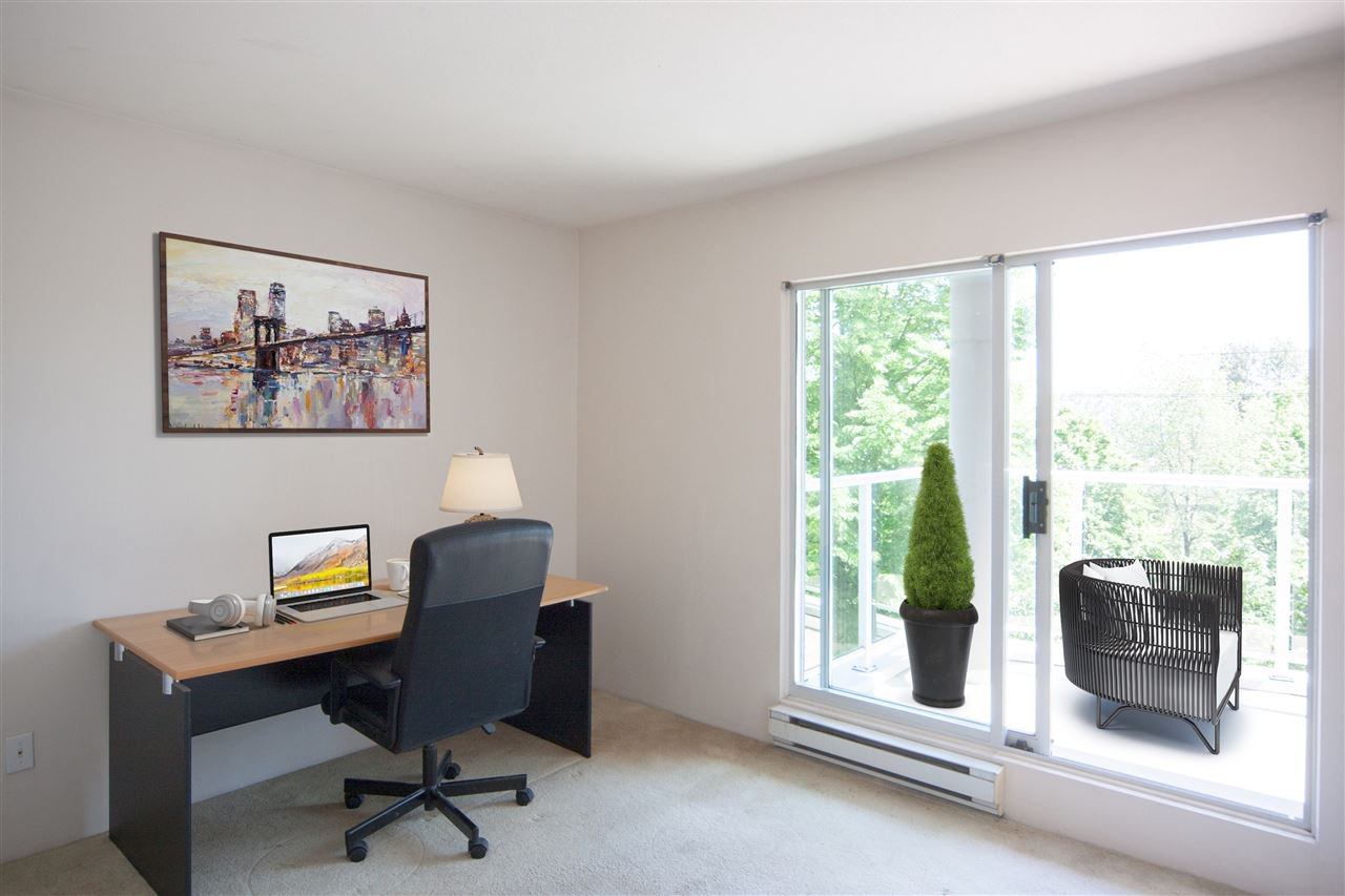 "Photo 3: Photos: 305 8450 JELLICOE Street in Vancouver: South Marine Condo for sale in ""BOARDWALK"" (Vancouver East)  : MLS®# R2376559"