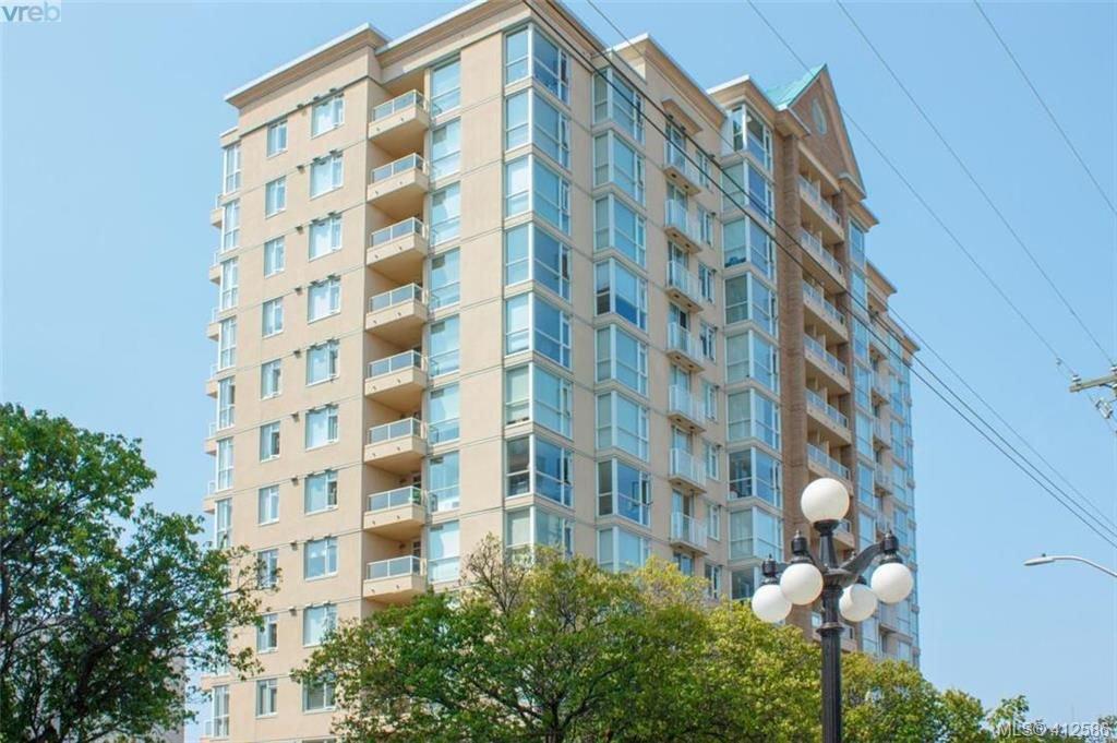 Main Photo: 1205 835 View Street in VICTORIA: Vi Downtown Condo Apartment for sale (Victoria)  : MLS®# 412586