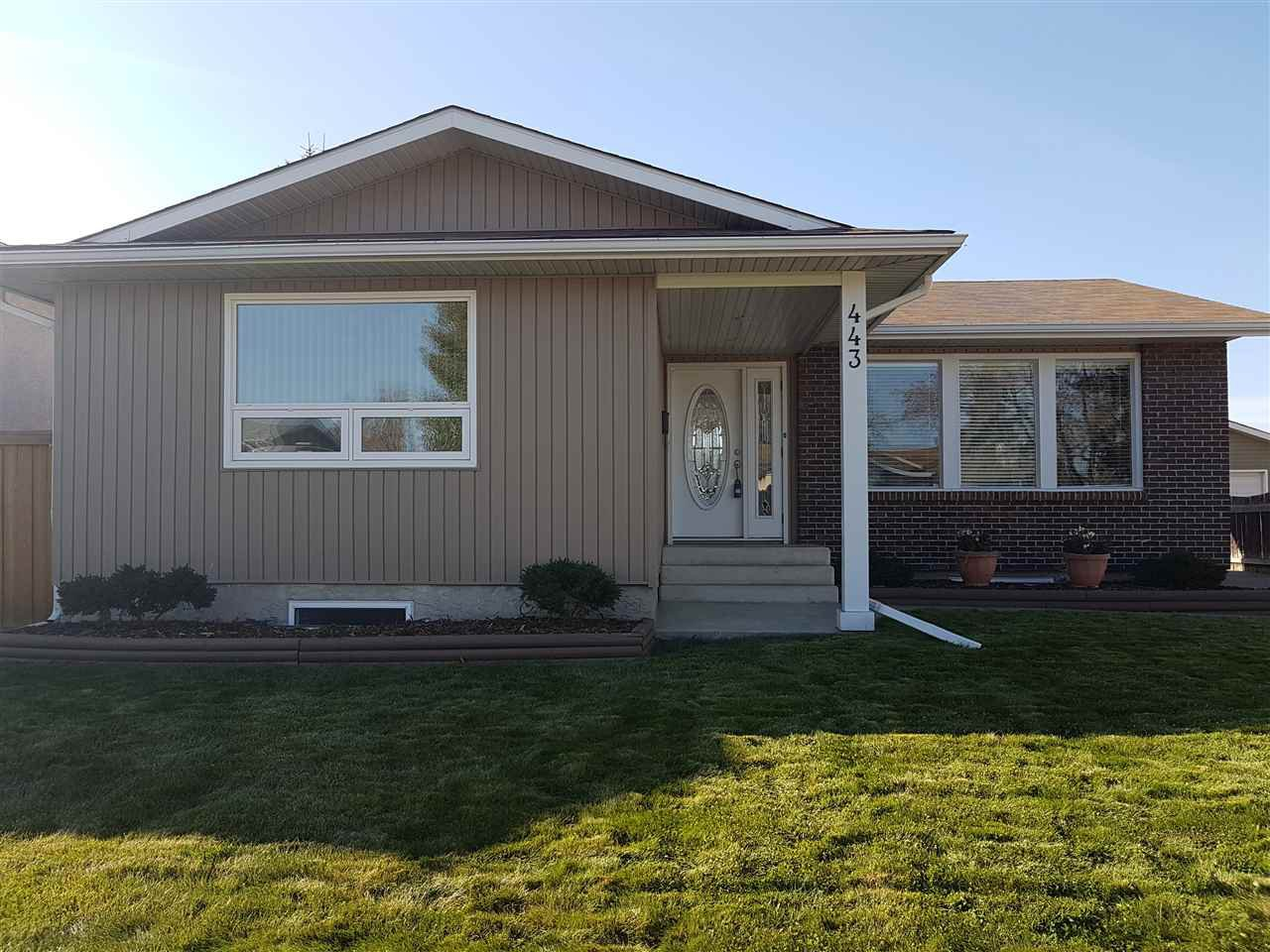 Main Photo: 443 Huffman Crescent in Edmonton: Zone 35 House for sale : MLS®# E4177594