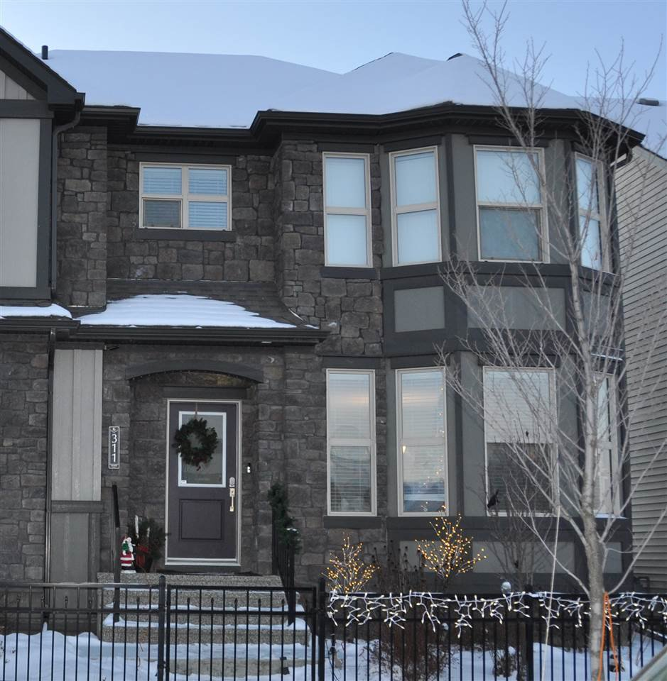 Main Photo: 311 Pioneer Road: Spruce Grove House Half Duplex for sale : MLS®# E4182784