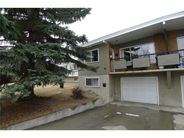 Main Photo: 18 BEAVER DAM Place NE in CALGARY: Thorncliffe Residential Attached for sale (Calgary)  : MLS®# C3611407