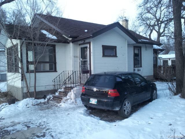Main Photo: 31 St George Road in WINNIPEG: St Vital Residential for sale (South East Winnipeg)  : MLS®# 1500637