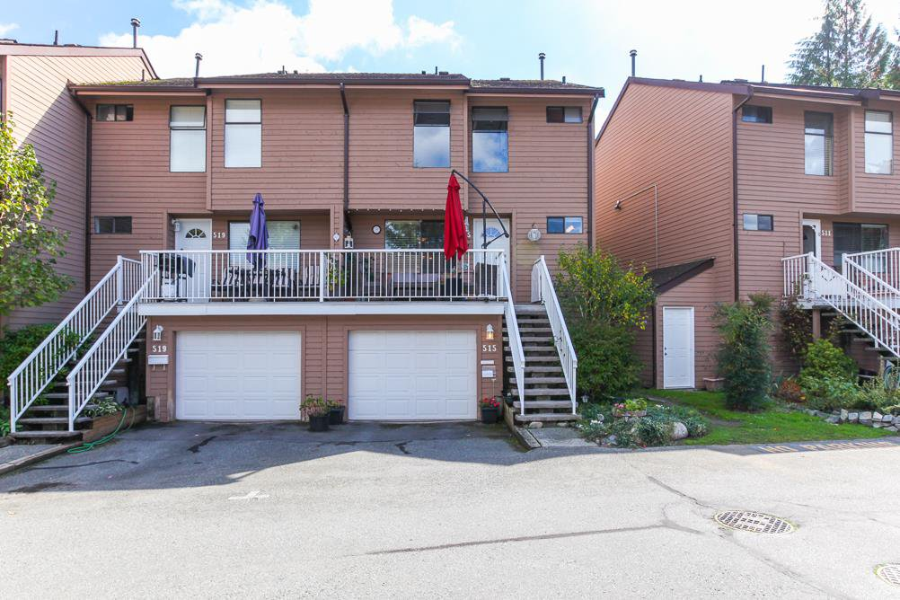 Main Photo: 515 LEHMAN Place in Port Moody: North Shore Pt Moody Townhouse for sale : MLS®# R2002399