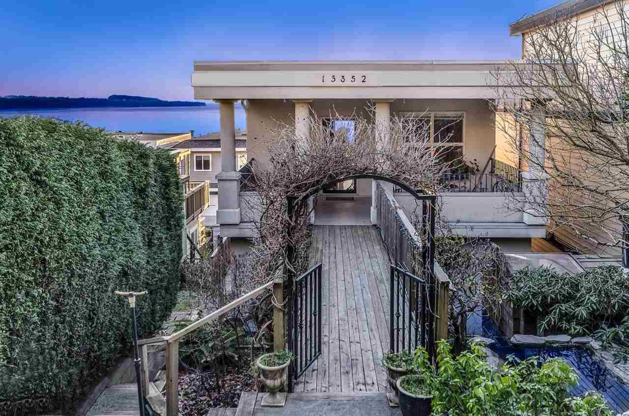 Main Photo: 15352 VICTORIA Avenue: White Rock House for sale (South Surrey White Rock)  : MLS®# R2022823