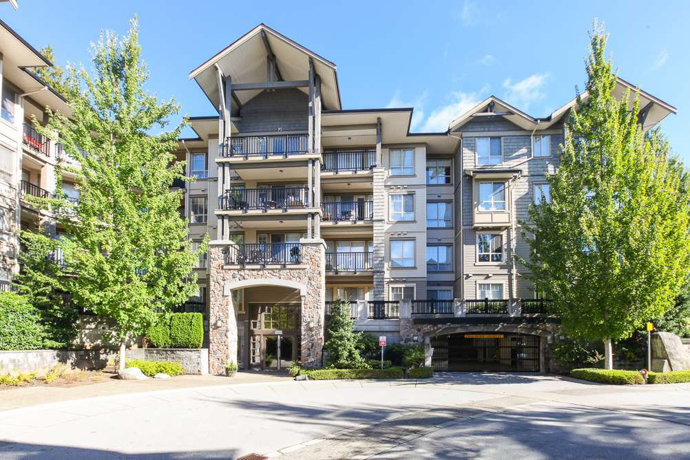 "Main Photo: 111 2969 WHISPER Way in Coquitlam: Westwood Plateau Condo for sale in ""SUMMERLIN AT SILVER SPRING"" : MLS®# R2095964"