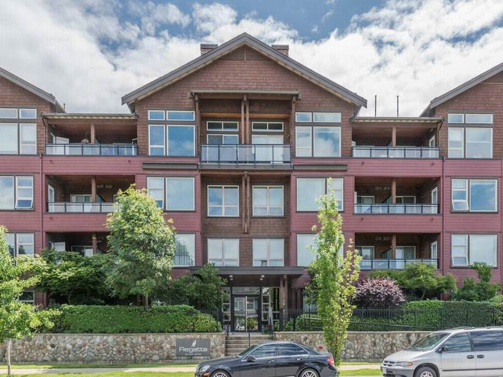 Main Photo: 310 240 SALTER Street in New Westminster: Queensborough Condo for sale : MLS®# R2176719