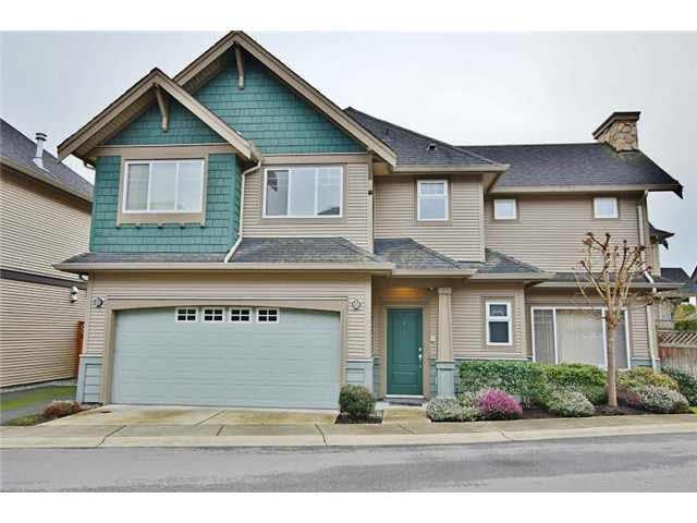 Main Photo: 1 7060 BRIDGE Street in RICHMOND: McLennan North Townhouse for sale (Richmond)  : MLS®# V1103998