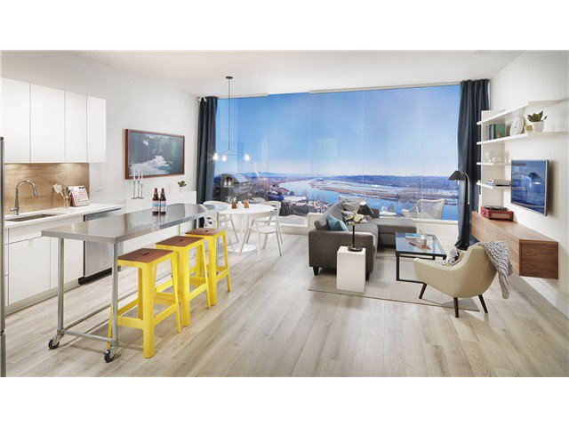 Main Photo: # 805 200 NELSON'S CR in New Westminster: Sapperton Condo for sale