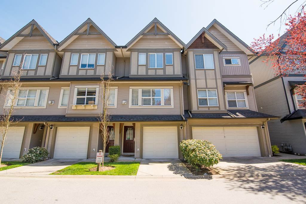 "Main Photo: 76 8737 161 Street in Surrey: Fleetwood Tynehead Townhouse for sale in ""BOARDWALK"" : MLS®# R2261273"