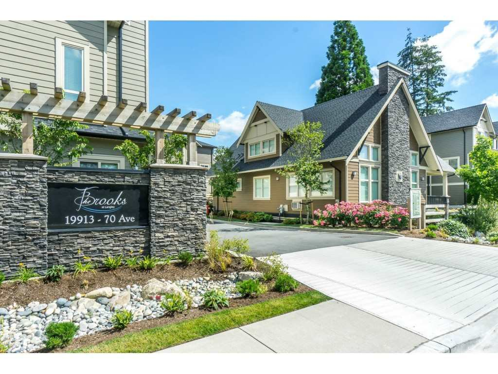 "Main Photo: 30 19913 70 Avenue in Surrey: Willoughby Heights Townhouse for sale in ""THE BROOKS"" (Langley)  : MLS®# R2285040"