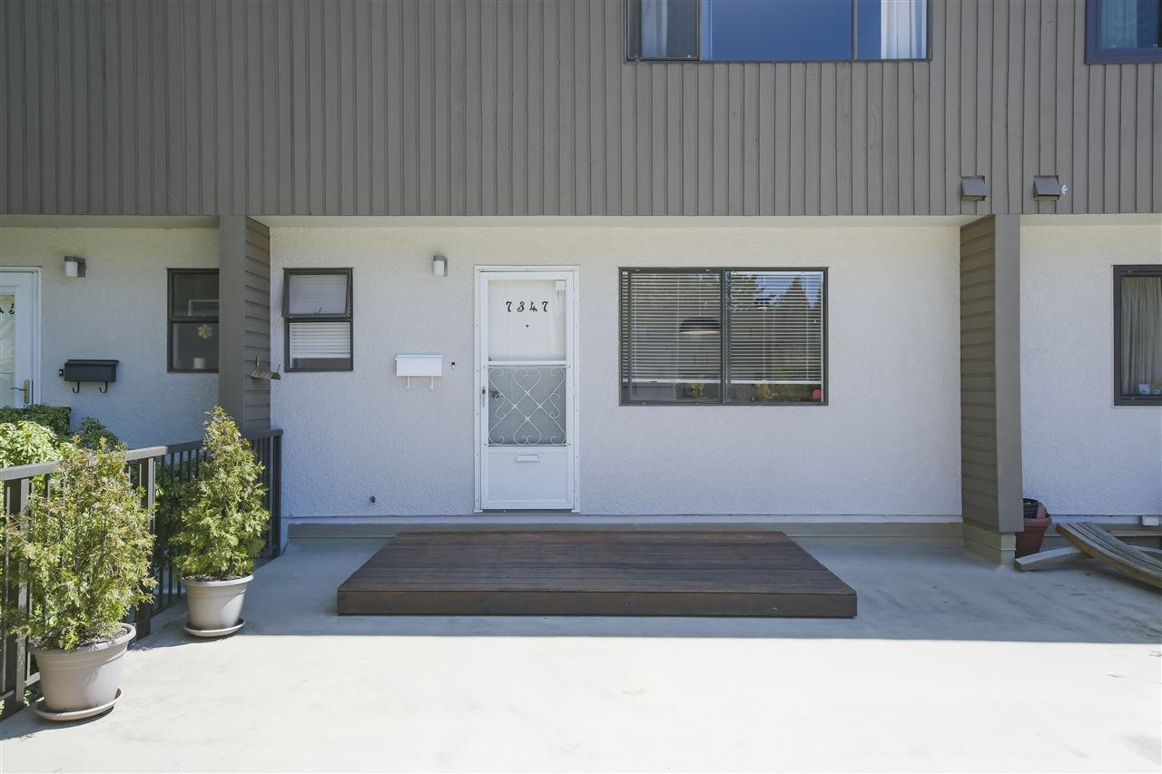 Main Photo: 7347 CORONADO Drive in Burnaby: Montecito Townhouse for sale (Burnaby North)  : MLS®# R2364748