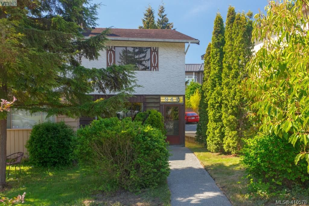 Main Photo: 945 Inskip Street in VICTORIA: Es Kinsmen Park Half Duplex for sale (Esquimalt)  : MLS®# 410578