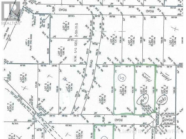 Main Photo: 6 D&M ACREAGES HWY 43 in Rural Woodlands County: Vacant Land for sale : MLS®# AW51563