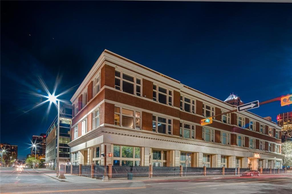 Main Photo: 105 1117 1 Street SW in Calgary: Beltline Apartment for sale : MLS®# A1058033